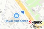 Схема проезда до компании ОКОЛОФУТБОЛА в Афонино