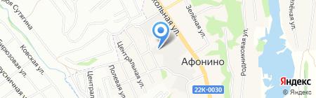 Три А Проект на карте Афонино