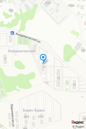 Дом 9 (по генплану), ЖК Академический на Яндекс.Картах