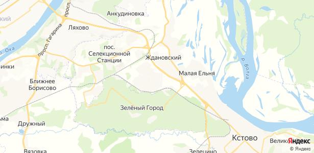Крутая на карте