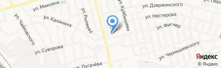Детский сад №21 Ладушки на карте Бора