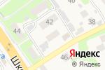 Схема проезда до компании Продуктовый магазин в Афонино