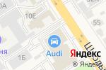 Схема проезда до компании Автолига-Рента в Афонино
