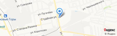 Магазин автозапчастей на карте Бора