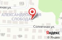 Схема проезда до компании Азурит в Толмачёво