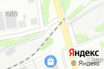 Схема проезда до компании Серебро в Боре