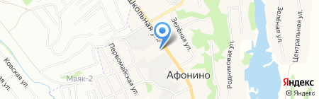 Ауди Центр Нижний Новгород на карте Афонино