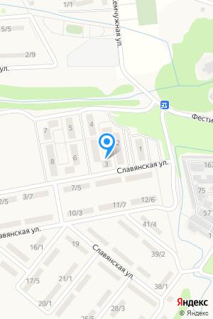 ул. Фестивальная д.3, ЖК Мега  на Яндекс.Картах