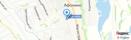 Ветеран на карте Афонино