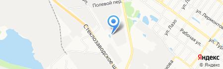 Инспекция Федеральной налоговой службы России по Борскому району на карте Бора