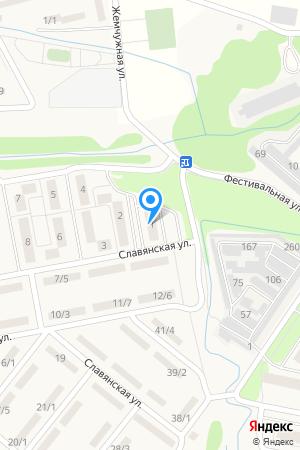 ул. Фестивальная д.1, ЖК Мега на Яндекс.Картах