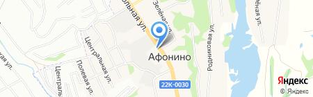 АНКЕРА И КРЕПЕЖНЫЙ ИНСТРУМЕНТ на карте Афонино