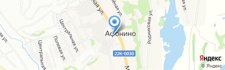 Нижегородвтормет на карте Афонино