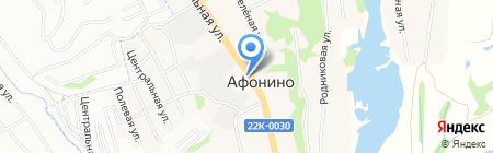 ПроКрепёж на карте Афонино