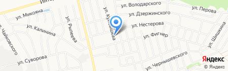 Церковь во имя святителя Николая Чудотворца на карте Бора