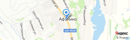 Лайм на карте Афонино
