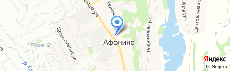Наш на карте Афонино