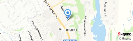 Врачебная амбулатория на карте Афонино