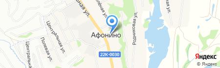 Волго-Вятский банк Сбербанка России на карте Афонино