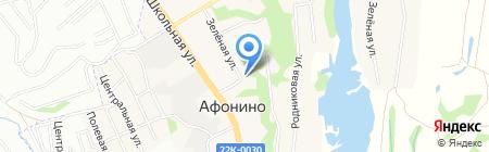 Детский сад №43 на карте Афонино