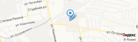 Автобаза на карте Бора