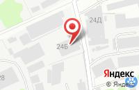 Схема проезда до компании Корпорация-Стекло-Бор в Боре