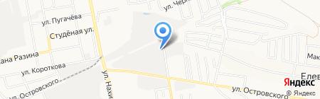 Корпорация-Стекло-Бор на карте Бора