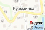 Схема проезда до компании Продуктовый магазин в Кузьминке