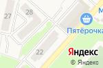 Схема проезда до компании Магазин крепежа и электротоваров в Ждановском
