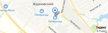 Волго-Вятский банк Сбербанка России на карте Большой Ельни