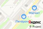 Схема проезда до компании Пятерочка в Ждановском