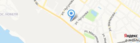 Магазин женской одежды на ул. Чугунова на карте Бора