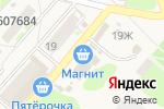 Схема проезда до компании Магнит в Ждановском