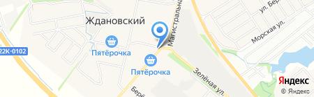 Продуктовый магазин на Школьной на карте Большой Ельни