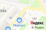 Схема проезда до компании Магазин одежды в Ждановском