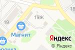 Схема проезда до компании Сабрина в Ждановском