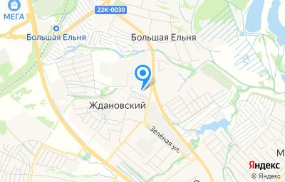 Местоположение на карте пункта техосмотра по адресу Нижегородская обл, Кстовский р-н, п Ждановский, ул Магистральная, стр 6