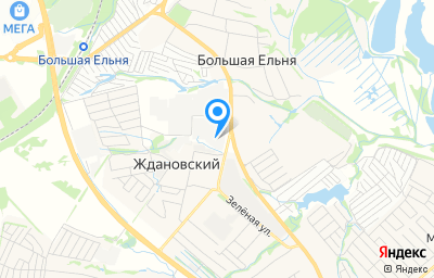 Местоположение на карте пункта техосмотра по адресу Нижегородская обл, Кстовский р-н, п Ждановский, ул Магистральная, д 6