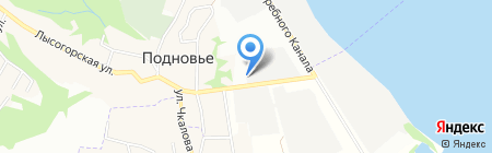 Звезда на карте Нижнего Новгорода