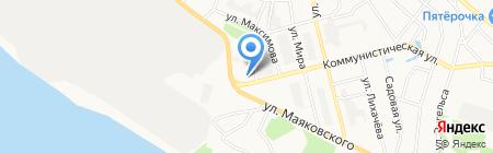 Парикмахерская на Коммунистической на карте Бора
