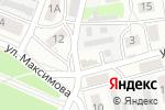 Схема проезда до компании Ателье на ул. Баринова в Боре