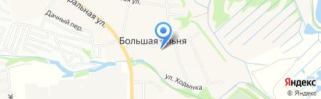 Храм во имя Святителя и Чудотворца Николая Мир Ликийского на карте Большой Ельни
