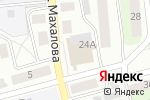 Схема проезда до компании Багетный салон-мастерская в Боре