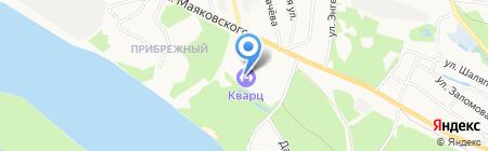 Ледовый дворец на карте Бора