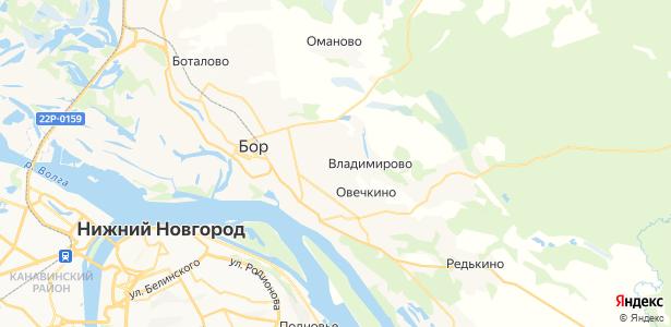 Елевая на карте