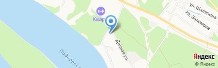 У Шаляпина на карте Бора