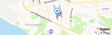 Василёк на карте Бора