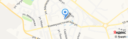 Смирнов Центр на карте Бора