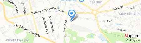 Городская больница №1 на карте Бора