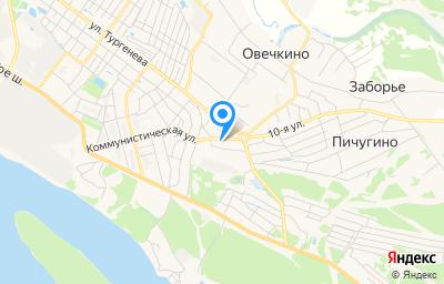 Местоположение на карте пункта техосмотра по адресу Нижегородская обл, г Бор, ул Коммунистическая, д 32